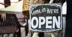 De winkels gaan weer open!