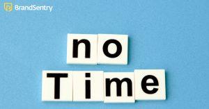 Geen tijd om tijd te besparen