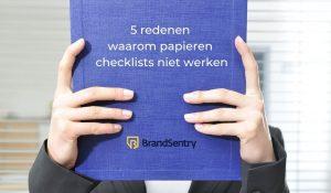 5 redenen waarom papieren takenlijsten niet werken