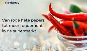 Van Red Hot Chili Peppers naar een beter rendement in de supermarkt