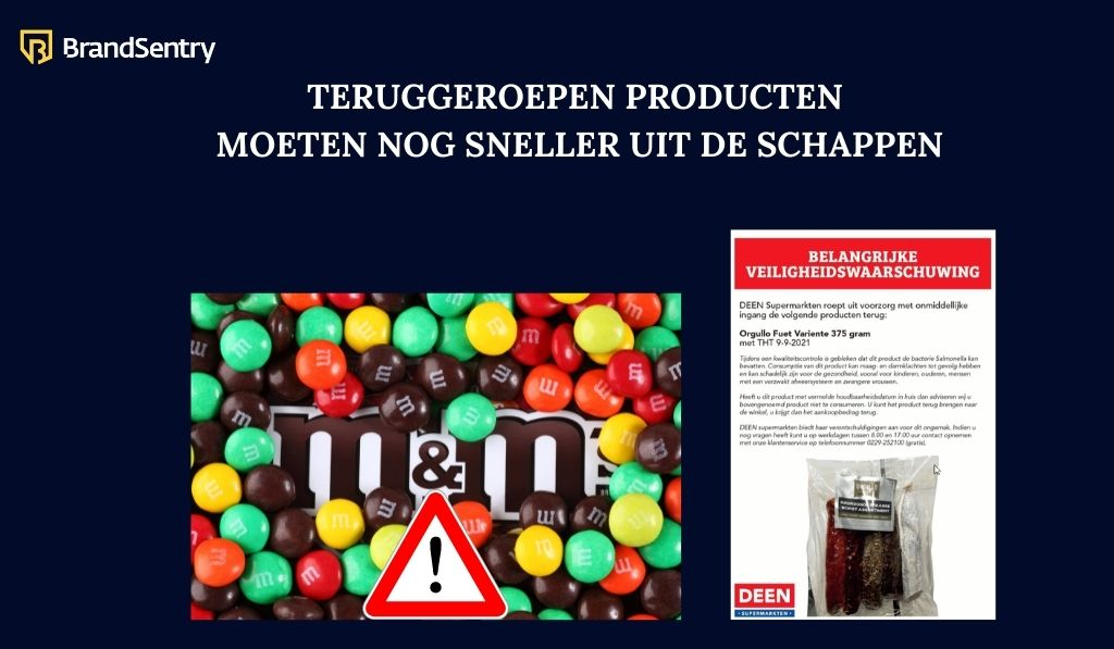 Gevaarlijke producten moeten nog sneller uit de schappen